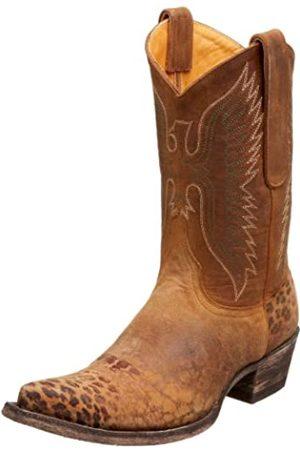 Old Gringo Damen L172-16 Adler Stitched Cowboy Boot, Braun (Ocre/Hellbraun)