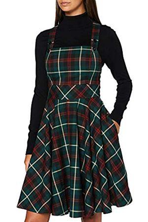 Joe Browns Damen Check Pinafore Dress Lssiges Kleid