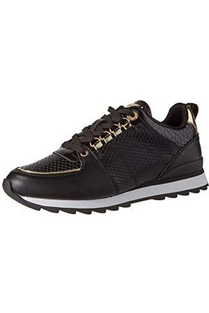 Maria Mare Damen Nara Sneaker, Brina Negro/Mirror Champagne/Serp Negro/Cocus Negro