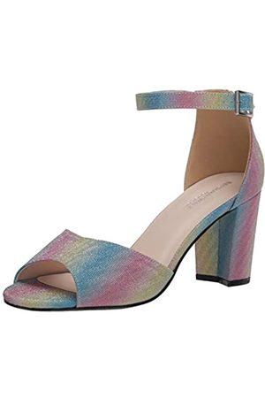 Touch Ups Amaya Damen Sandalen mit Absatz, Mehrfarbig (regenbogenfarben)