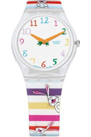 Swatch GE221 – ArmbanduhrDamenArmbandKunststoffMehrfarbig