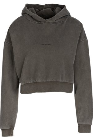 YOUNG POETS SOCIETY Damen Pullover Jola sweat cropped 214 grau (vintage rails)