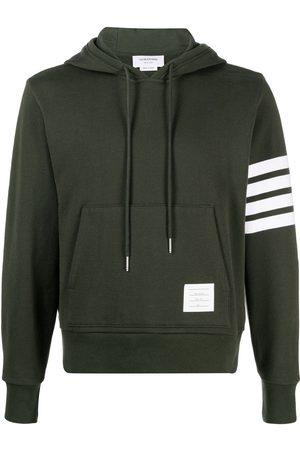 Thom Browne Herren Sweatshirts - Hoodie mit gestreiftem Ärmel