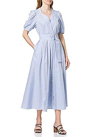 YAS Damen CASA SS Long Shirt Dress S. Kleid