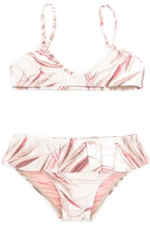 Lygia & Nanny Mädchen Tankinis - Bikini mit Rüschenborten