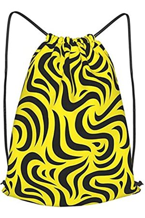 OVPSZFYO Lineman Rucksack mit amerikanischer Flagge, Kordelzug, Sportbeutel, faltbar, wasserabweisend, für Herren und Damen, Schule, Reisen