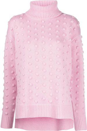 LELA ROSE Rollkragenpullover aus Wolle