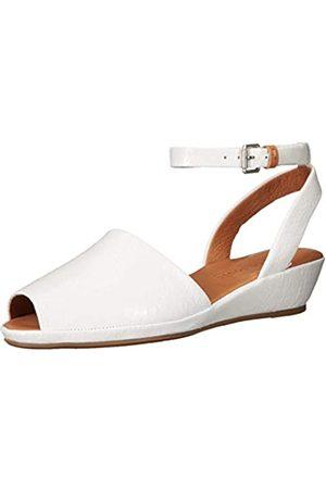 Gentle Souls Damen Lily Ankle Wrap Low Wedge Keilabsatz-Sandale