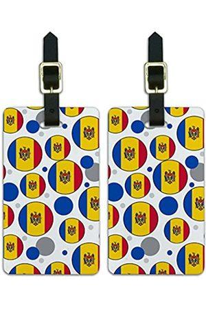 Graphics and More Graphics & More Nationalflagge J-n-Moldova - Luggage.Tags.09636