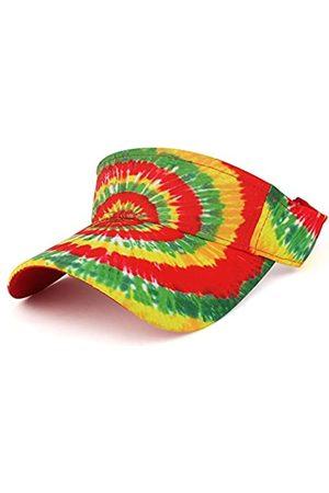 Trendy Apparel Shop Hippie-Batik-Mütze Bedruckt bunt Cool Sommer Visor Cap - Mehrfarbig - Einheitsgröße