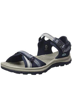 Keen Damen Terradora 2 Sport-Sandale mit offenem Zehenbereich, Marineblau/Hellblau, 6
