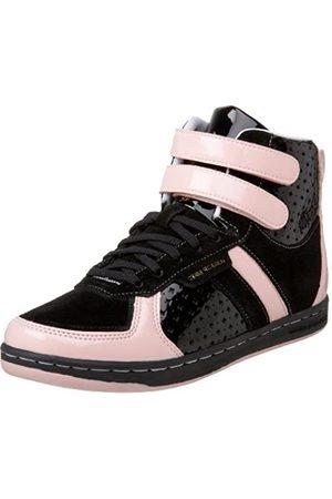 Creative Recreation Sneakers - Women's Dicoco High-Top Sneaker,Black/Baby Pink