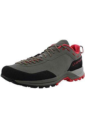 La Sportiva Women's TX Guide Rock Climbing Shoes, Clay/Hibiscus
