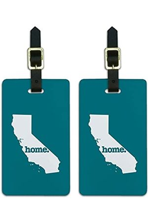 Graphics and More Graphics & More California Ca Home State Kofferanhänger