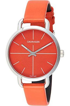 Calvin Klein Unisex Erwachsene Analog-Digital Quarz Uhr mit Edelstahl Armband K7B21626