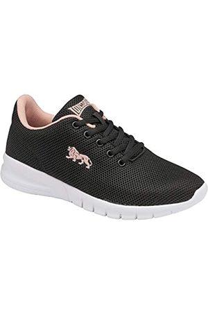 Lonsdale London Damen Bedford Road Running Shoe, Black/Blossom