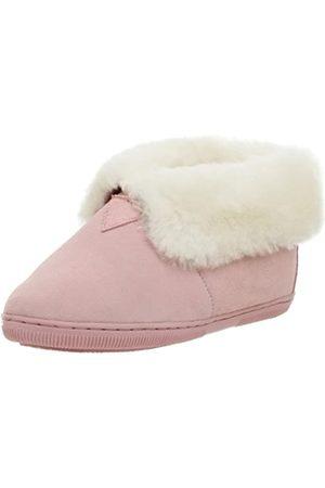 Chooka Klassische Hausschuhe aus Schaffell für Damen, Pink (Rose)