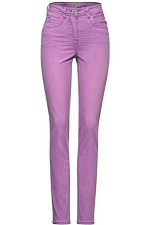 CECIL Damen 373797 Style Toronto Slim Fit High Waist Jeans