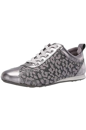 Taryn Rose Damen Schnürschuh Sneaker, (Gunmetal)