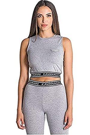 Gianni Kavanagh Damen Blusen - Damen Grey Melange Core Top Unterhemd