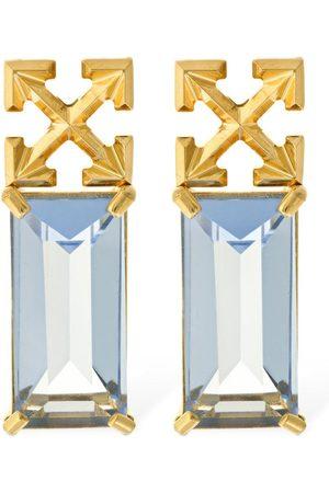 """OFF-WHITE Damen Uhren - Ohrringe Mit Kristallen """"arrow"""""""