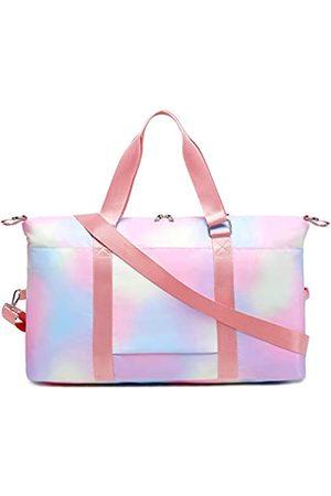 CAMTOP Weekender Damen Reisetasche aus Segeltuch, (Y6015 Rainbow1)
