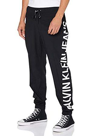 Calvin Klein Jeans Herren Stretch Logo Nylon Trackpant Hose