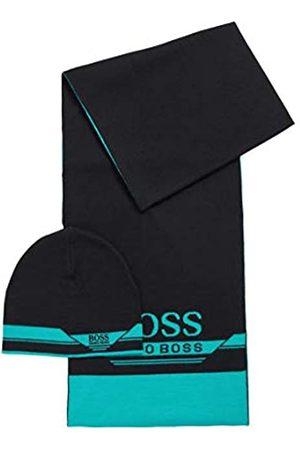 BOSS Herren Gift-Set Aura Set aus Schal und Mütze in einer Geschenkbox