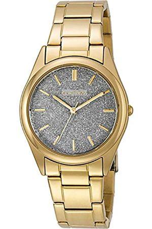 Radiant Damen Analog Quarz Uhr mit Edelstahl Armband RA391205