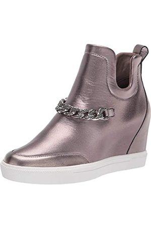 Karl Lagerfeld Damen Covey Sneaker, Messing antik-Optik