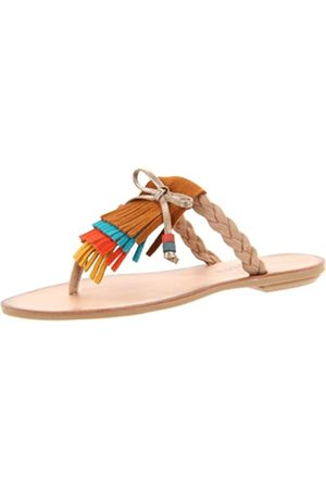 Dirty Laundry By Chinese Laundry Damen Behave Zehensandalen, (Biscuit Multi)