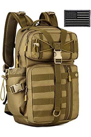 ArcEnCiel Hydration Pack Motorrad Rucksack Taktische Militärtasche Armee Assault Rucksäcke für Outdoor Wandern Camping Trekking Jagd mit Patch (Coyote Brown)