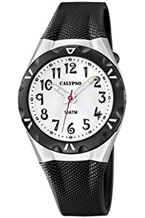 Calypso Damen Analog Quarz Uhr mit Plastik Armband K6064/2