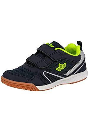 LICO BOULDER V Unisex Kinder Multisport Indoor Schuhe, Marine/ Lemon