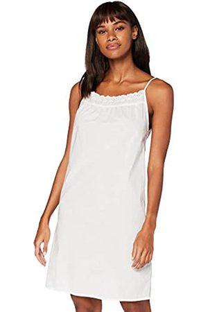 IRIS & LILLY Damen Ärmelloses Nachthemd aus Baumwolle , M