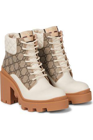 Gucci Ankle Boots GG Supreme