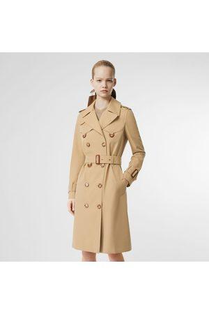 Burberry Herren Trenchcoats - The Islington Trench Coat, Size: 02, Yellow