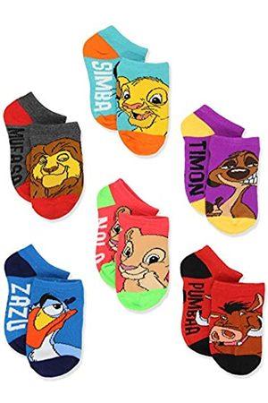 Disney The Lion King Boy's Girl's Toddler Teen Adult's 6 pack Socks Set