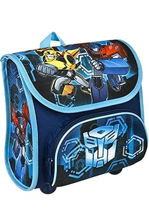 UNDERCOVER Scooli TFJK8240 - Vorschulranzen Cutie mit Klettverschluss, ergonomisch, leicht, Transformers mit Bumblebee und Optimus Prime Motiv, ca. 4