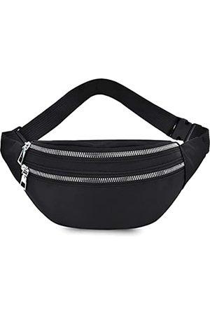 AIKELIDA Bauchtasche für Damen und Herren – wasserdichte Hüfttasche mit verstellbarem Gurt für Laufen, Reisen, Outdoor, Sport, Marathon, Freizeit, Wandern, Radfahren