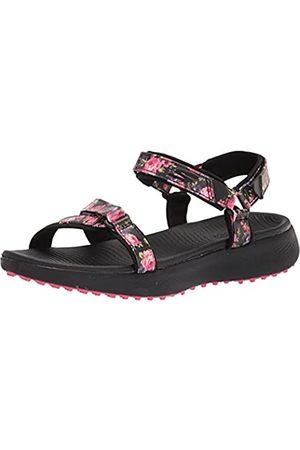 Skechers Damen 600 Spikeless Golf Sandals Golfschuh, /mehrfarbiges Blumendruck