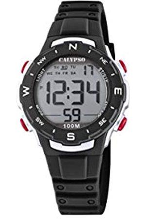 Calypso Unisex Digital Quarz Uhr mit Plastik Armband K5801/6