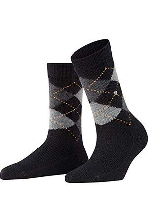 Burlington Damen Socken Whitby - Warm Und Weich, 1 Paar, (Black 3000)