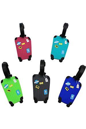 Mziart Reisegepäckanhänger Set Reisegepäcketiketten Reisegepäcketiketten Reisegepäcketiketten Einheitsgröße