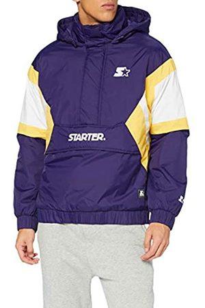 STARTER BLACK LABEL Herren Color Block Half Zip Retro Jacket Aufwärm-Jacke