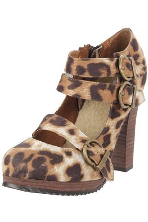 Not Rated West Coast Damen Pumpe, (Leopard)