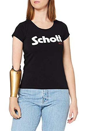 Schott NYC Damen Tslogow T-Shirt