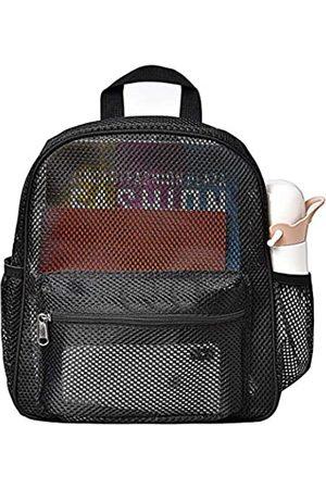 MayTree Semi-Transparent Netz-Rucksack, klein, durchsichtig, für Pendeln, Strand, Schwimmen, Reisen