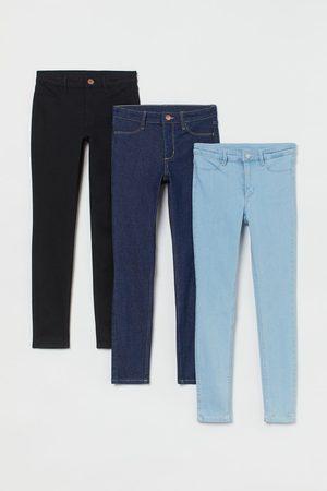 H&M 3er-Pack Skinny Fit Jeans