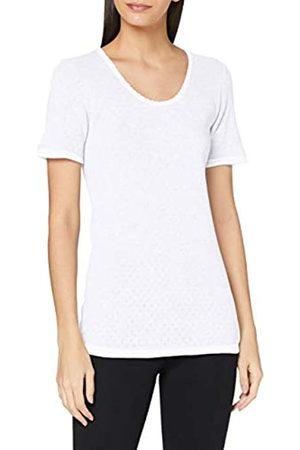 Damart Damen Tee Shirt Manches Courtes Maille FANTAISIE-30227 Unterwäsche